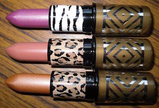 MAC Style Warrior lipsticks