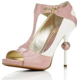 jonathan kelsey pink jewel heels