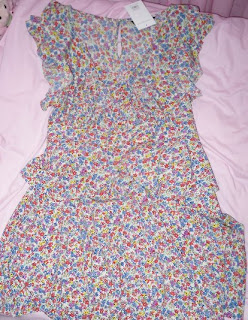 dp floral tea dress