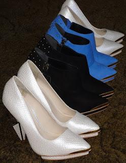 topshop unique statement heel boots shoes