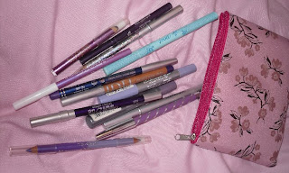 purple eyeliners