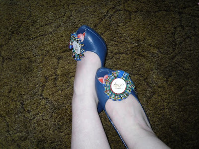 shoemissy loch ness peeptoes
