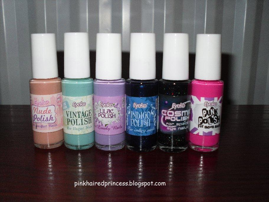 Pink Haired Princess: Eyeko Cult Classics
