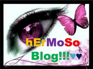 "Premio ""Hermoso Blog"""