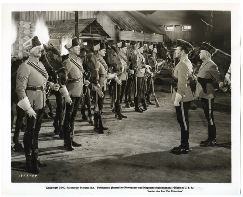 MOVIES I LIKE: North West Mounted Police (1940)