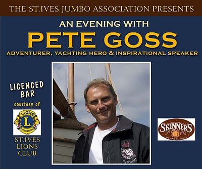 An Evening With Pete Goss
