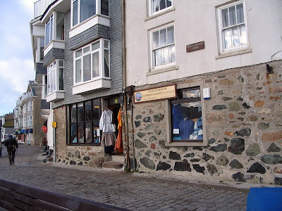 St Ives Fishermen's Co-op - The Wharf St Ives Cornwall