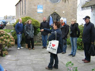 Guided Tour Of St Ives With Valerie Hurry