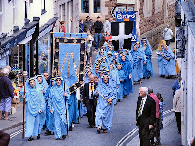 Gorsedh Kernow Procession Of Bards- St Ives