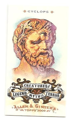 I Visited Greece This Past Summer So Seeing Cards Such As One Of Mythical Creatures That Learned About From Greek History Excited Me Quite A Bit