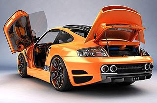 Porsche 911 996 Top Art Concept Design by Bogdan Urdea 5