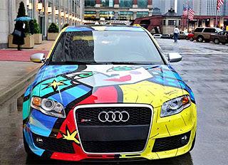 Audi RS4 Art Car