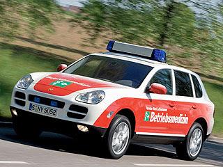 2007 Porsche Cayenne Emergency Vehicle