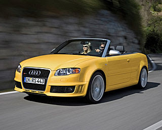 2008 Audi RS 4 Cabriolet 3