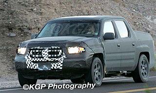 2009 Honda Ridgeline Spy Photos