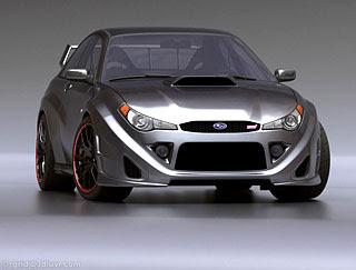 2007 Subaru Impreza WRX STI Concept Design by Lars Martensson