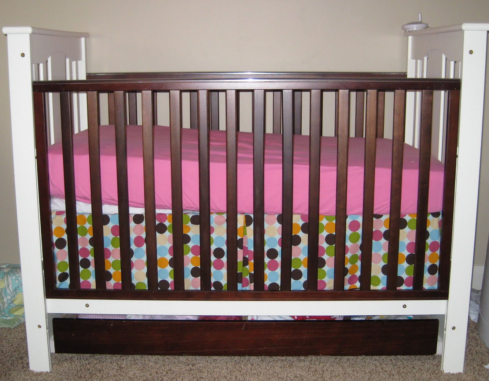 creatively christy: Crib Skirt