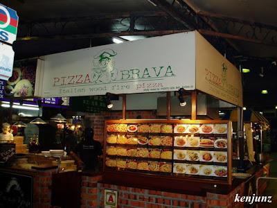 Pizza brava asia cafe