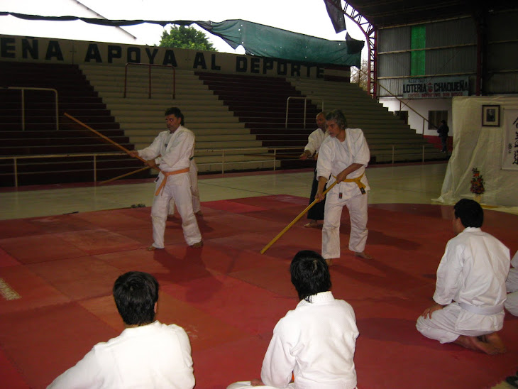 EXHIBICION DEL DOJO DEL CLUB DON BOSCO