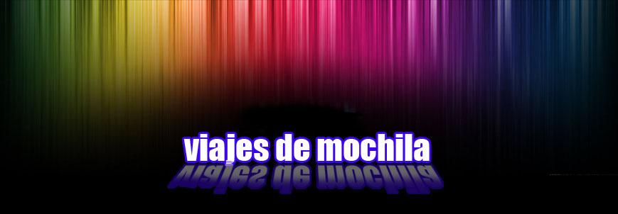 Viajes de Mochila