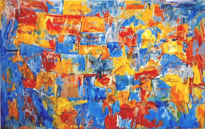 alegr237a y color jasper johns