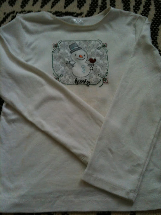 gap snow long sleeves (size: 5y)