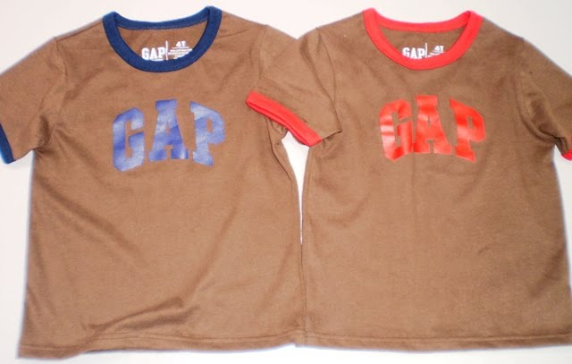 GAP BROWN/BLUE  - RM 25 - gap brown/red sold out