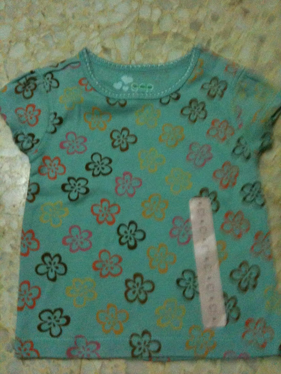 Gap Green Flowery 6-12m