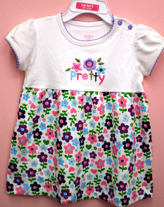 Carters Pretty Flower Dress ----Price:RM25
