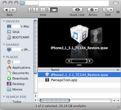 How to Jailbreak iPhone 3G S on OS 3.1 Pwnage Tool (Mac)