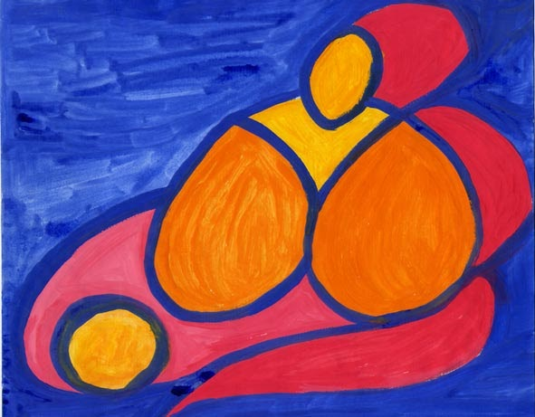 Revista archivos del sur la escritura y el compromiso con for Imagenes de cuadros abstractos geometricos
