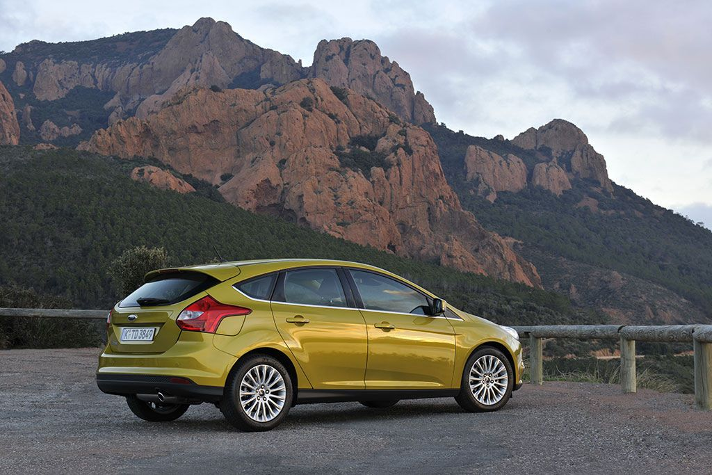 Ford Focus Style 1.6 Tdci. The new generation Ford Focus