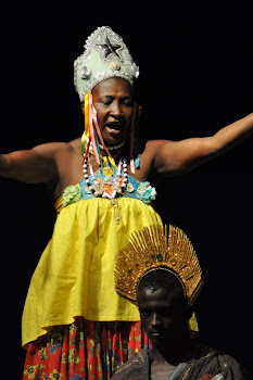 Dna Faustina - Coordenadora do Grupo de Dança Bate Barriga