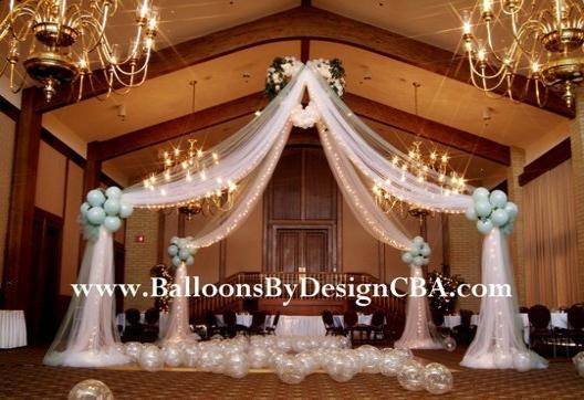 Nil desperandum banquet plans valentine theme for Balloon dance floor decoration