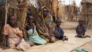 Darfur image from International Emergency and Refugee Health Branch of the Centers for Disease Control and Prevention