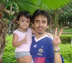 ...daddy n aira...