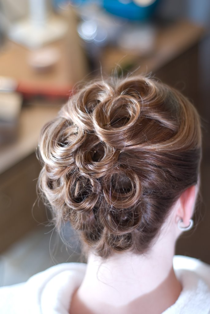 bridal up do hairstyles. bridesmaid updo hairstyles for