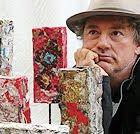 L'artiste peintre Pier Regnier