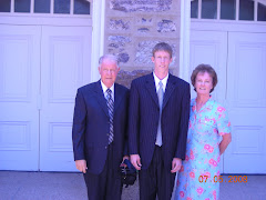Regan with his Grand Parents Jim and Evalyn Finch