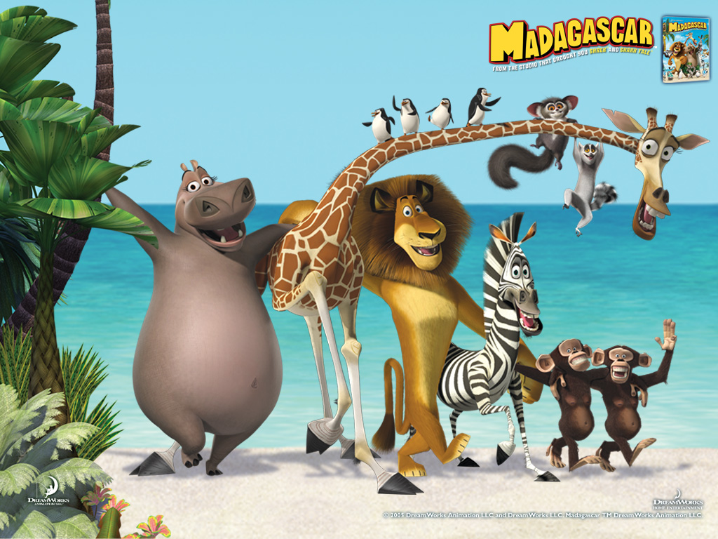 animation movie geek madagascar - photo #36
