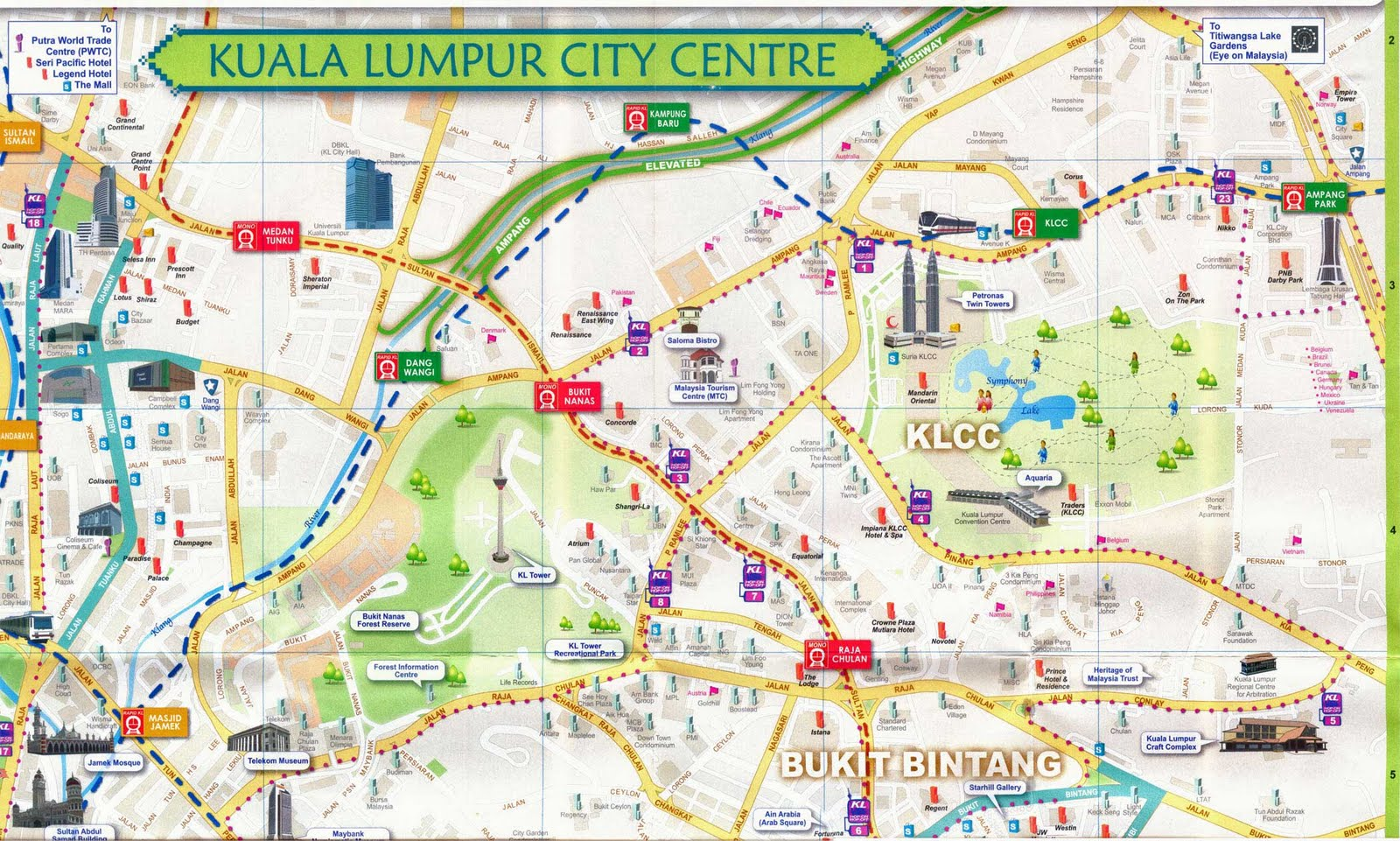 Getting From Kuala Lumpur Airport To City Centre