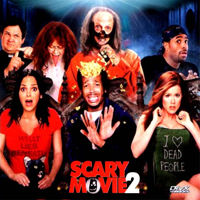 Scary Movie Divx Front Scary Movie X