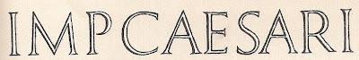 Римский шрифт. Библиографическая служба