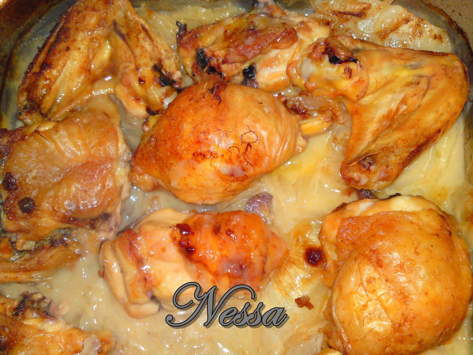 cocinando con nessa pollo a la sidra