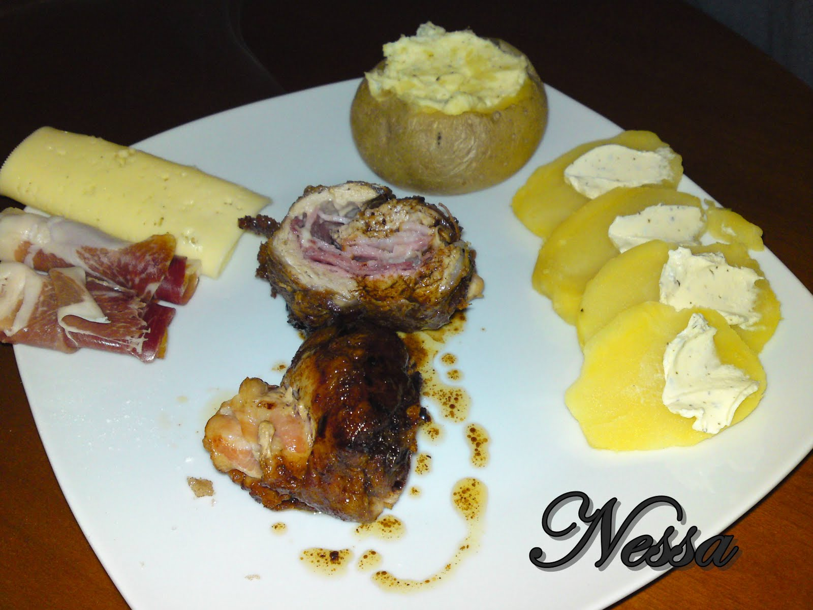 Cocinando Con Nessa Solomillo Relleno Al Horno Con Jam N
