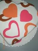 FONDANT CAKE FOR HANTARAN