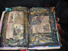 oriental altered book