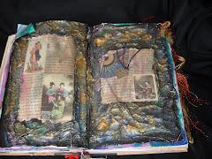 oriental altered book