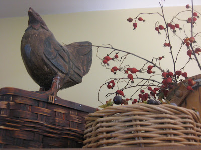 Rooster and Rose Hips