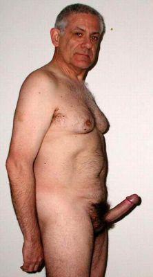 Mature men with boners congratulate, very